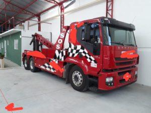 Iveco 490s Truck invertido todo hidráulico – 2011