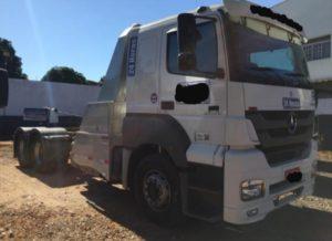 Caminhão MB Axor 2536 – Automático – Guincho Lança Extra Pesado Implemento Mirassol